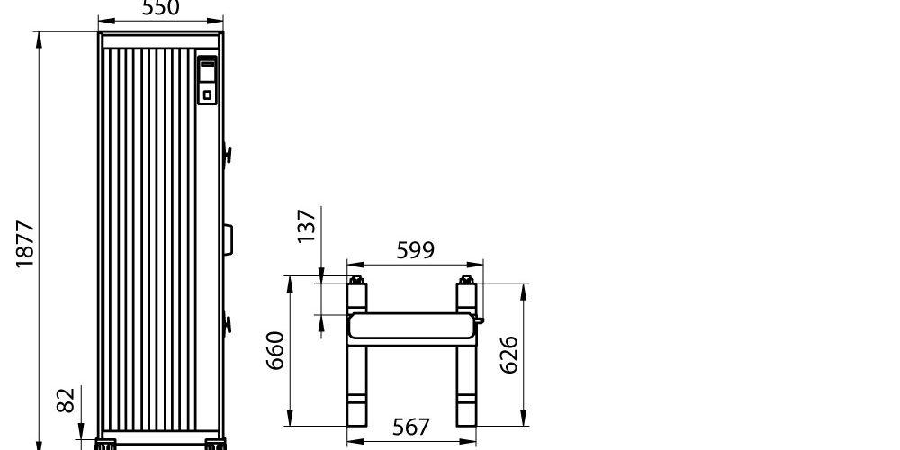 UV100 parziale schema